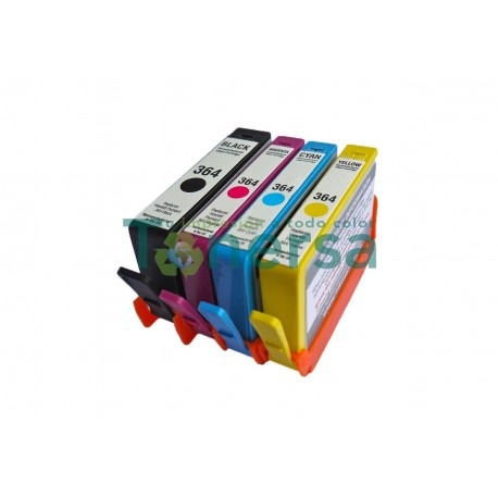 CARTUCHO DE TINTA COMPATIBLE HP CN045AE NEGRO 80ML