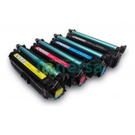 TONER COMPATIBLE HP CE250X NEGRO 10500 COPIAS